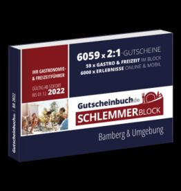 Schlemmerblock Bamberg & Umgebung 2022 - Gutscheinbuch 2022 -