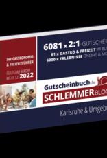 Schlemmerblock Karlsruhe & Umgebung 2022 - Gutscheinbuch 2022 -
