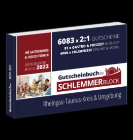 Schlemmerblock Rheingau-Taunus-Kreis & Umgebung 2022 - Gutscheinbuch 2022 -