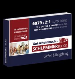 Schlemmerblock Gießen & Umgebung 2022 - Gutscheinbuch 2022 -