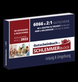Schlemmerblock Leipzig & Umgebung 2022 - Gutscheinbuch 2022 -