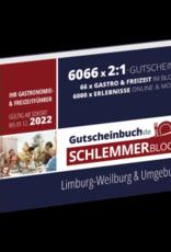 Schlemmerblock Limburg-Weilburg & Umgebung 2022 - Gutscheinbuch 2022 -
