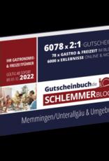 Schlemmerblock Memmingen/Unterallgäu & Umgebung 2022 - Gutscheinbuch 2022 -