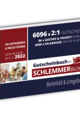 Schlemmerblock Bielefeld & Umgebung 2022 - Gutscheinbuch 2022 -