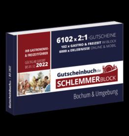 Schlemmerblock Bochum & Umgebung 2022 - Gutscheinbuch 2022 -