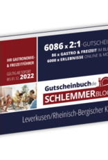 Schlemmerblock Leverkusen/Rheinisch-Bergischer Kreis 2022 - Gutscheinbuch 2022 -
