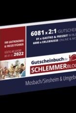 Schlemmerblock Mosbach/Sinsheim & Umgebung 2022 - Gutscheinbuch 2022 -