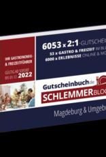 Schlemmerblock Magdeburg & Umgebung 2022 - Gutscheinbuch 2022 -