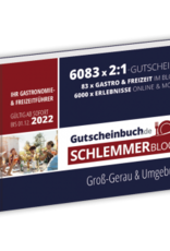 Schlemmerblock Groß-Gerau & Umgebung 2022 - Gutscheinbuch 2022 -