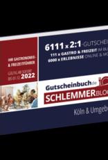 Schlemmerblock Köln & Umgebung 2022 - Gutscheinbuch 2022 -