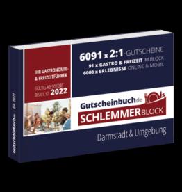 Schlemmerblock Darmstadt & Umgebung 2022 - Gutscheinbuch 2022 -