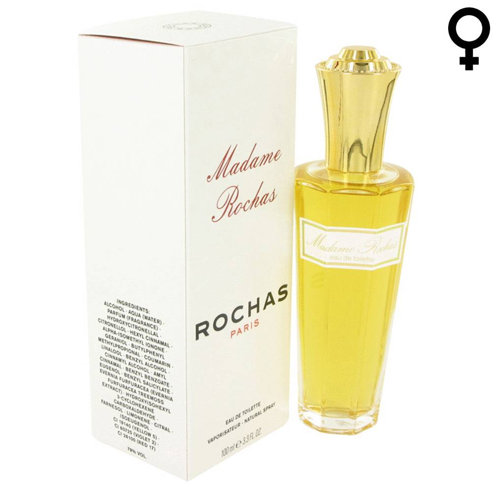 Rochas ROCHAS: MADAME ROCHAS - Eau de Toilette - Vapo - 100 ml