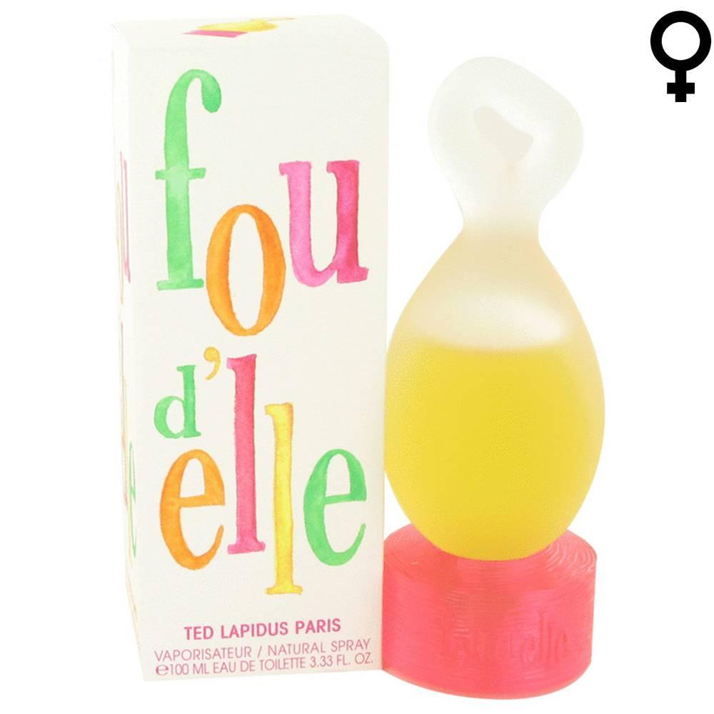 Ted Lapidus FOU D'ELLE - Eau de Toilette - Vapo - 100 ml