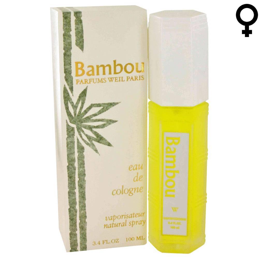 Weil BAMBOU - Eau de Cologne - Vapo - 100 ml