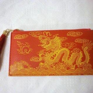 Drachen-Brieftasche , ca. 20x10cm