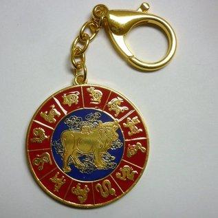 Amulett speziell für Tierkreiszeichen Hahn d=. 4,5cm