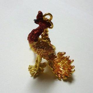 Purpurroter Phönix Anhänger für Frieden und Harmonie ca.5(10)cm