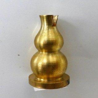Räucherstäbchenhalter Messing, ca. 3x2cm