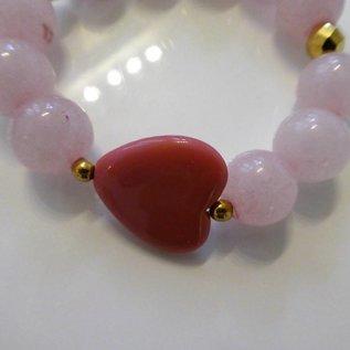 Rosenquarmband für Liebe und Partnerschaft