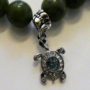 Armband Jade mit Schildkröte für Karrieresteigerung