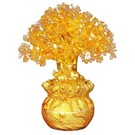 Kristallbaum Citrine groß