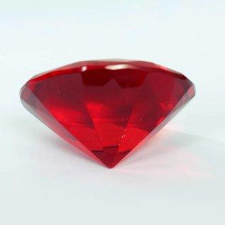Красный кристал 4X3 cm