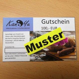 Gutschein KanYu über 100,- EUR