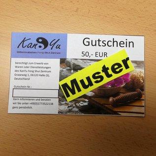 Gutschein KanYu über 50,- EUR -
