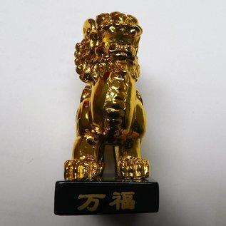 geflügelter, goldglänzender Pi Yao, 4x7x9cm
