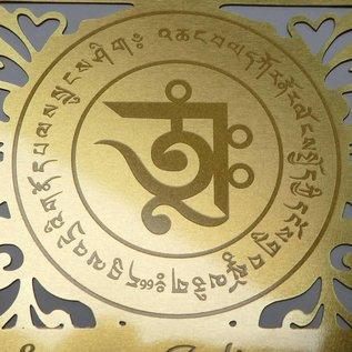 success talisman, printed on golden card