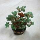 Kristallbaum Nephrit Jade