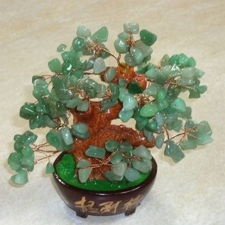 Nephrite tree for harmonisation, 18x15cm
