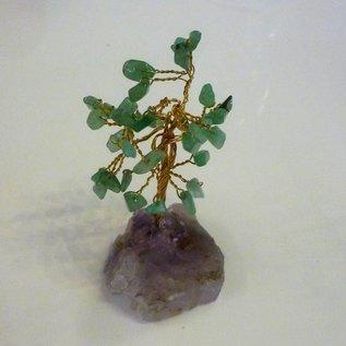 Kristallbaum Nephrit (Jade) ca.9cm zur Harmonisierung 2019