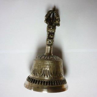 Tibetische Handglocke mit Dorje Set 8x15 / 4x10cm