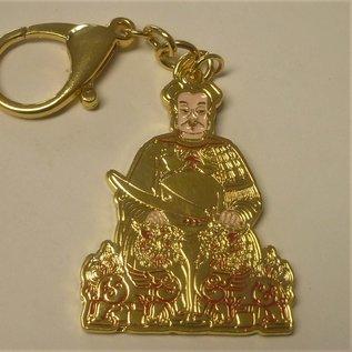 Tai Sui Amulet keychain 4,5x5 (12) cm