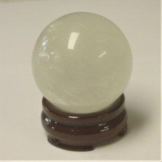 clear quartz crystal ball, d=5,5cm