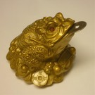 Money frog ngold 7x5cm