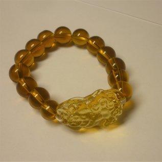 Armband Citrine mit Pi Yao