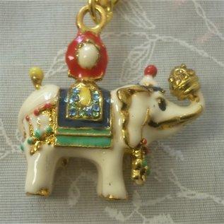 Elefant Anhänger für Wohlstand und finanziellen Schutz, ca. 4x4(10)cm