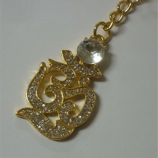 bejeweled OM keychain