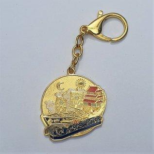 Wealth ship Amulet keychain 5,5x5 (11)cm