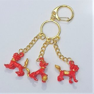 RED THREE DIVINE GUARDIANS KEYCHAIN 3x3 (13) cm