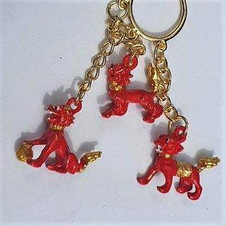 RED THREE DIVINE GUARDIANS KEYCHAIN 3x3 (13)cm