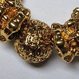 Armband mit 2 Pi Yao mit Mantraperlen und  Reichtumsmantra