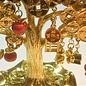 Baum für 3 Arten von Wohlstand,ca.13x8x14cm