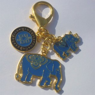 """Брелок """"Слон с Носорогом """"от потерь"""