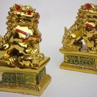 Fu Feng Shui Hunde , ca.4,5 x 6,5 x 10 cm