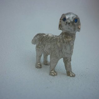 Zinn-Horoskop-Tier Hund ( ca.5x2x4cm)