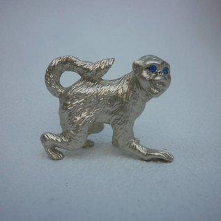 Zinn-Horoskop-Tier Affe ( ca. 4x2x4cm)
