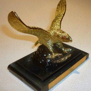 goldener Adler für Erfolg mit Lufterfrischer, ca. 8x8cm